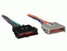 Metra & Turbo Wire Radio Wiring Harness Power / 4-Speakers for 85-04 Ford Mazda