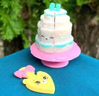 NEW Shopkins Happy Places Royal Trends Wedding Season Wedding Cake 4 Pieces