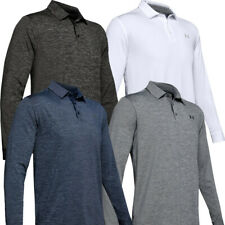 UNDER ARMOUR MENS PLAYOFF 2.0 LONG SLEEVE GOLF POLO SHIRT SPORTS TOP / NEW 2020