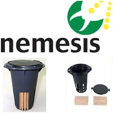 6 NEMESIS termite monitor bait station for termite treatment and inspection..