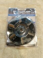 Wood Deck Tool Angle Grinder Replacement Diamabrush 4.5 in. 50-Grit USED