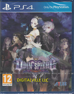 Odin Sphere Leifthrasir PS4 Brand New Factory Sealed