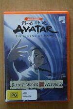 Avatar - The Legend of Aang - Water : Book 1 (DVD, 2007)  Preowned  (D199)