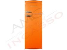 Frigorifero Doppia Porta Tecnogas cm.175X60 DP36-A LT.311 Vent.Classe A+ Arancio