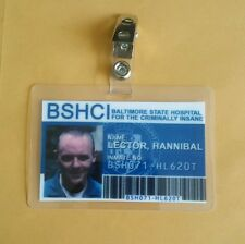 Silence Of The Lambs ID Badge - BSHCI Hannibal Lector cosplay costume