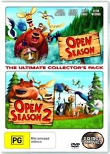 Open Season / Open Season 2 (DVD, 2008, 2-Disc Set) R4