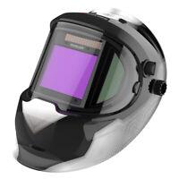 True Color Large View Solar Power Auto Darkening Welding Helmet Two Side View