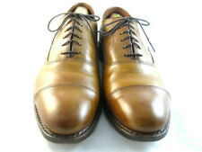 "Allen Edmonds ""PARK AVENUE"" Cap Toe Oxfords 11.5 D  Walnut  (199)"
