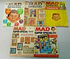 MAD Magazine Specials + Annuals Lot 10 Different (1970-80)