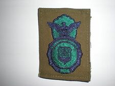 USAF SECURITY POLICE BADGE PATCH - BDU - NEW