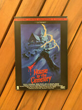 RARE LIMITED NUMBERED HOUSE by the CEMETERY DVD Lucio FULCI Horror ULTRABIT