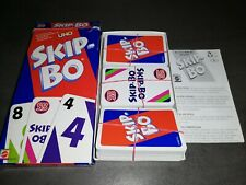 Mattel-Skip-Bo-SkipBo jeu de cartes familles jeu patience skippo