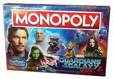 Usaopoly Monopoly Guardians of the Galaxy Vol. 2 Collector's Editon, New
