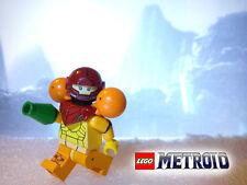 Custom Lego Super Metroid Prime Other M Samus Aran Minifig Varia Suit w/ Blaster