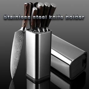 Set de 14 couteaux style japonais bloc Cuisine Couteau Blocs Acier Inoxydable