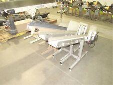 "Plastic Process Equipment incline belt conveyor 6"" x 60"" 115V"