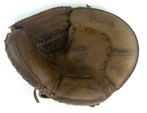 Vintage Spalding 42-7891 Yogi Berra Catchers Mitt Glove RH Leather