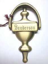 "Large Doorknocker 6"" 1/2 Sanderson Doorknockers made in Spain Brand new Rare"