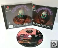 Oddworld: Abe's Oddysee ~ Sony PlayStation PS1 Black Label Game *Excellent CIB*