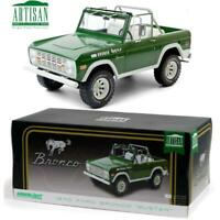 GREENLIGHT 19084 1970 Ford Bronco - Buster Diecast Model Car 1:18