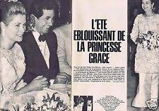 Coupure de presse Clipping 1965 Princesse Grace de Monaco  (4 pages)