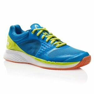 Head Sprint Pro Men's Indoor Court Shoe (Blue/Lime)