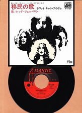 LED ZEPPELIN - IMMIGRANT SONG / HEY, HEY, WHAT CAN I DO  45 RPM  UNPLAYED  1970