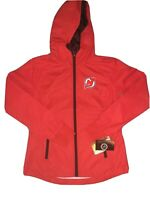 NWT New Jersey Devils NHL GIII Sports by Carl Banks Mens Jacket Small Full Zip