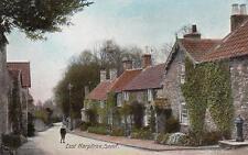 East Harptree Nr Midsomer Norton old pc Chew Magna postmark Grosvenor