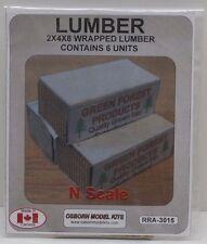 Osborn Models Wrapped Lumber 6 units N scale OSB3015