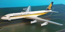 Boeing 707-300 Singapore Airlines 9V-BEY Un Moulé Métal Modèle En 1/200