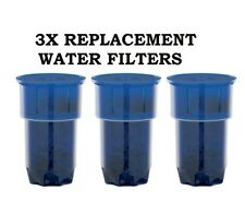 Heller 3x Replacement Water Filters Heller Aquaport Lenoxx