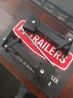 2 Pack Swing Down Jacks Stabilizer w/ LIFT BAR Trailer Jack Camper Stab