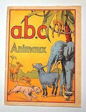 ABC ANIMAUX. Abécédaire des éditions Gordinne 1938. Bel état