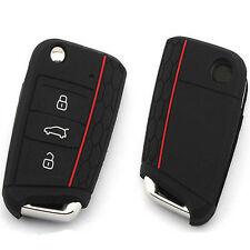 Car Silicone Key Cover Protect Case For Volkswagen VW Golf7 mk7 Skoda Octavia A7