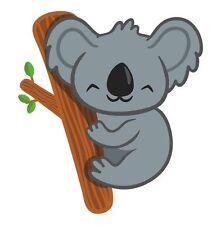 Oso Koala Oz Aussie australiano Sticker Etiqueta de vinilo gráfico Etiqueta V1