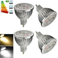 10/4x 6W 5W 4W 3W MR16 LED Bulbs SMD Lamps GU5.3 Spot Bulb Warm/ Daylight DC12V