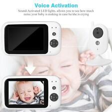 "Senza Fili 3.5"" Digitale LCD Bambino Baby Monitor Telecamera Visione Notturna"
