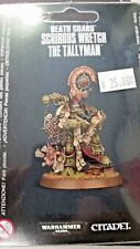 WH40K Chaos Space Marine DEATH GUARD SCRIBBUS WRETCH THE TALLYMAN, New
