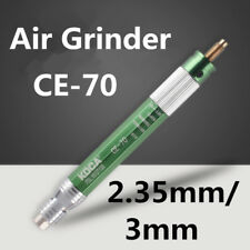 1/8'' Pneumatic Grinder CE-70 Tool Air Micro Pencil 70000RPM Chuck 2.35mm/3mm