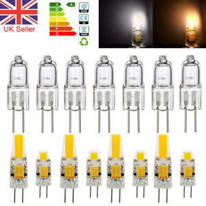 Dimmable G4 LED Bulbs 3W 6W 10W 20W Capsule Light Lamp Replace Halogen Bulb UK