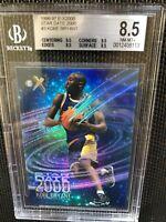 1996 Ex-2000 Star Date 2000 Kobe Bryant RC Rookies BGS 8.5 Ctr 9.5 Corners 9.5