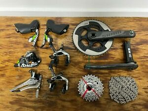 SRAM Red 10 Speed Group Set (Green Edition) 50/34 175 BB30 11-26