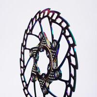FOURIERS MTB DISC ROTOR ultralight Titanium color brake rotor 140 160 180 203mm