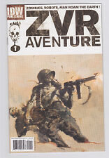 Zombies Vs Robots Aventure #1 #2 #3 1st Printings Ashley Wood Covers IDW