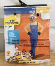 Minions Costume Bob Boy's Large New Set Halloween Cosplay