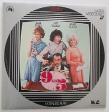 9 to 5 MOVIE laser disc LD  EXTENDED PLAY Dolly Parton Lilly Tomlin 1981