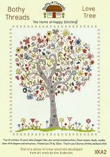 BOTHY THREADS LOVE TREE COUNTED CROSS STITCH KIT KIM ANDERSON NEW FREE DELIVERY