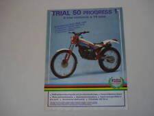 advertising Pubblicità 1986 FANTIC TRIAL 50 PROGRESS 1