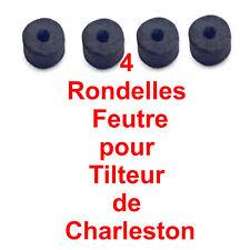 4 Rondelles en Feutre pour Tilteur Charleston 25 x 12 X 12 mm